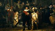 """""""La Ronde de nuit"""" de Rembrandt, une restauration en public et en ligne"""