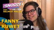 A 25 ans, Fanny Ruwet n'a déjà plus de patience mais c'est très drôle quand elle l'explique
