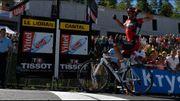 Héroïque en montagne, Van Avermaet empoche la 5ème étape et le jaune !