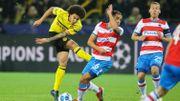 Le FC Bruges, bien organisé, résiste au Dortmund de Witsel
