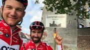 Arrivés à Semmerzake, De Gendt et Wellens ont bouclé leur road-trip