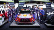 """Les livrées des WRC 2019 présentées en Angleterre, la Hyundai de Neuville plus """"bariolée"""""""