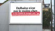 Campagne de pub Delhaize: bien manger, pour mieux récolter les données?