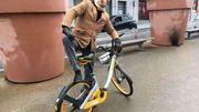 Freddy Tougaux teste les vélos partagés bruxellois !