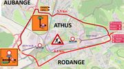 Mobilité (Aubange) : travaux avenue de l'Europe
