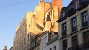 La pénétration de la rue des Poissonniers.
