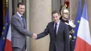Bachar al-Assad reçu à l'Elysée par Nicolas Sarkozy