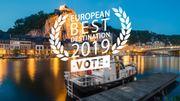 Dinant, meilleure ville européenne de 2019 ?