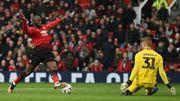 3e but en 3 matches pour Lukaku, Man United passe en 1/16 de la FA Cup