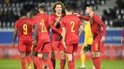 Euro espoirs 2023 : La Belgique avec le Danemark, la Turquie, l'Ecosse et le Kazakhstan en qualifications