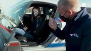 Clémence, 14 ans et pilote automobile