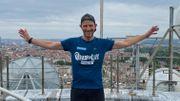Le défi vertigineux de ce pompier bruxellois pour Viva for Life: 24h d'ascension de la tour Reyers !