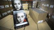 Adele est officiellement l'artiste ayant vendu le plus de disques en 2015