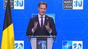 """Sommet de l'Otan: Alexander De Croo se dit """"satisfait"""", les Etats membres ont plaidé pour un """"renforcement de la consultation politique"""""""