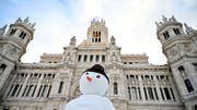 Poste centrale de Madrid, le 10 janvier