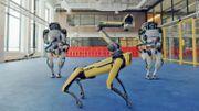 Des robots qui dansent le twist!