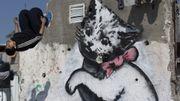 Un graffiti de Banksy à Gaza vendu... moins de 200 dollars