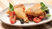 Tuto du chef: Samoussa olives tomates