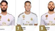 Le Real Madrid indique qu'Eden Hazard portera... le numéro 7 !