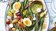 Recette: Salade bistrot aux haricots verts