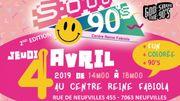 Sooo 90's 2nd edition au Centre Reine Fabiola ce jeudi