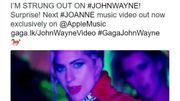 """Lady Gaga dévoile le clip de """"John Wayne"""" en exclusivité sur Apple Music"""