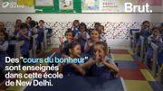 """En Inde, des écoles enseignent le """"bonheur"""" à leurs élèves à New Delhi"""