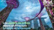 Les Jardins de la Baie, un lieu futuriste et monumental à Singapour