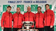 Finale Coupe Davis : suivez le face à face France - Belgique en direct !