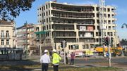 Des étançons auraient bougé menaçant la structure de édifice.