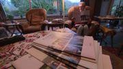 Ici, Micheline reçoit tous les mois un journal personnalisé avec des photos des membres de sa famille.