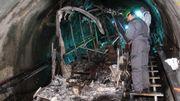 Kaprun en Suisse, après l'accident le plus mortel (155 morts) jamais survenu dans une télécabine