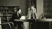 Fernand Colleye (à gauche) et Roger Clermont, décédé en 2008.