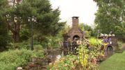 Le barbecue au toit végétalisé