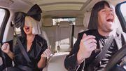 Quand Sia fait du karaoké en voiture, il y a des rires et des frissons