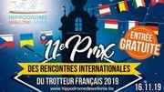 9 courses de trot attelé dont le Prix des Rencontres Internationales du Trotteur Français à l'Hippodrome de Wallonie