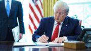 """Trump annonce des sanctions """"dures"""" visant le Guide suprême iranien"""