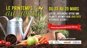 """""""Le printemps au jardin"""" du 23 au 24 mars   ! Vivacité vous offre des bon d'achat de 50 euros."""