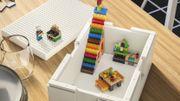 Lego s'associe à IKEA pour proposer du rangement plus ludique