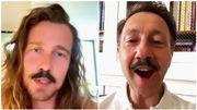 Julien Doré fait la promotion de l'album de Clara Luciani dans une vidéo hilarante avec Stéphane Bern