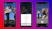 """Toujours plus loin dans la copie, Instagram lance une fonction """"remix"""" comme sur TikTok"""