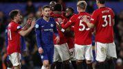Manchester United s'offre Chelsea grâce au filou Maguire, Batshuayi titulaire muet