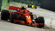 Essais libres 2 à Singapour: Räikkönen le plus rapide, Vandoorne 16ème