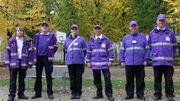 L'équipe des gardiens de la paix de Mons