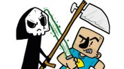"""Davy Mourier vs La Mort ou """" Vivons heureux en attendant la mort """""""
