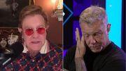 James Hetfield ému aux larmes par les mots d'Elton John