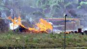 Un incendie détruit des palettes du groupe Mestdagh à Jumet