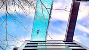 The Sky Pool: une piscine à 35 m du sol qui donne le vertige à tous les niveaux