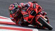 MotoGP Saint-Marin: Bagnaia décroche une nouvelle pole, Rossi et Marquez chutent