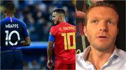 """Chatelle : """"Eden Hazard et Mbappé, les 2 extraterrestres offensifs de ce Mondial"""""""